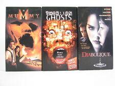 Thirteen Ghosts The Mummy Diabolique Tony Shalhoub Sharon Stone 3 VHS Tapes