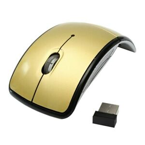 Foldable 2.4GHz Wireless Mouse PC Computer Optical Mice Mini USB Laptop Receiver