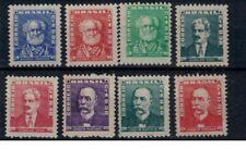 Brazilie mi 846-848, 850-854 (1954-55) xx - x mnh-mh