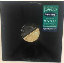"MICHAEL JACKSON Earth Song 12"" PROMO Single EX Vinyl 1995 Electronic House DJ"