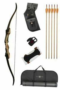 """Samick Sage Ultimate Traditional Package. 62"""" Length, 25lb Draw - Right Handed"""