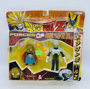 Dragonball Z Forces Of EvIl Babidi & Pui Pui Jakks Pacific 2003 - Action Figures