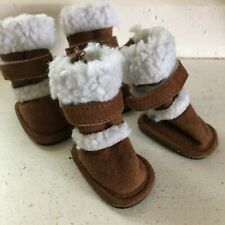 New listing Pugz Outdoor Shoes Dogs Size Small (2 ) Boots Velcro Adj. By Hugs Pet Products