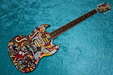 !!!!! Custom Painted Gibson SG USA guitar vintage design
