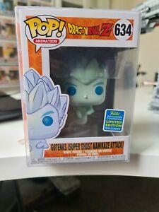Funko Pop Gotenks Super Ghost Kamikaze Attack # 634 Dragon Ball Z SDCC 2019