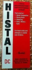 HistaL Decongestant Syrup 125mL ( For head colds and allergy )