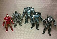"Hasbro Marvel Universe 3.75"" Scale Lot of 5 War Machine Iron Man Monger"