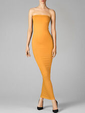 WOLFORD FATAL TUBE DRESS in Sun Yellow, Size:M  Ret:$215 New in Box/Tags