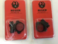 "Ruger 4BHM 5BHM 1"" scope ring set with mag JHX-1"