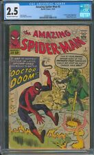 Amazing Spider-Man 5 CGC 2.5 - First Doctor Doom appearance outside of FF