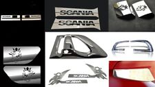 9 x Set Stainless Steel Accessories To Fit Scania Trucks 22 Pcs Super Polished