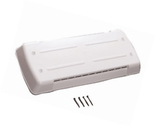 NEW RV Vent Cover Refrigerator Lid Trailer Camper White Dometic Replacement Part