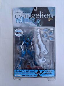 Kaiyodo Neon Genesis Evangelion EVA-00 Prototype Blue White New - Free Shipping