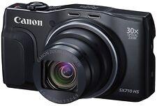 Canon PowerShot SX710 HS 20MP 30x Zoom WiFi/NFC Digital Camera Black +Free Case