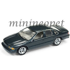 JOHNNY LIGHTNING JLSP006 B 1996 CHEVROLET IMPALA SS 1/64 DIECAST DARK GREEN GREY