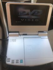 "Trutech Go Anywhere 7"" Portable DVD Player PVS12701 Movie free - USED CONDITION"