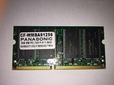 256 MB RAM PC133 Panasonic Toughbook CF28 Originale