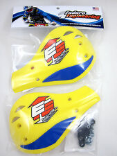 Enduro Engineering Yellow Plastic Outer Mount Roost Deflectors Handguards NEW