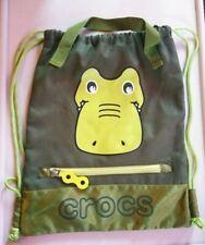 Crocs Drawstring Bag Green Backpack