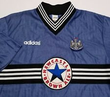 Vintage 1996-97 Newcastle United Adidas Soccer Made in England Mens XL Jersey