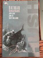 Batman - Hush Volume 2 by Jeph Loeb, Scott Williams SIGNED BY JIM LEE