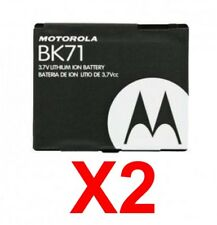 Lot Of 2 Oem Motorola Bk71 Battery For V750 Adventure Renegade v950 ic502 ic402