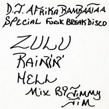 Jimmy Jim Zulu Rain Hell Mix Vinyl LP Record New