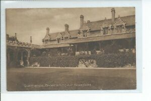 Printed postcard of the Browns hospital at Stamford Lincolnshire ave condition
