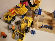 Lego Duplo # 5653 STONE QUARRY Retired - 100% complete - Great Condition!