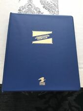1991-1992 USPS Commemorative Stamp Club Album 21 Pages & 95  Stamps