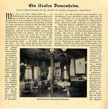 Ein ideales Damenheim Das Ludwig Wilhelm- Pflegehaus in Baden- Baden Spei...1906