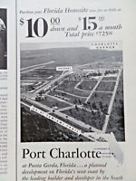 1957 Port Charlotte Punta Gorda Mackle Company Florida Ad Purchase Your Homesite