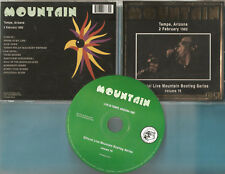 Mountain The - CD - Live in Tempe Arizona 1982 - CD von 2006 - Neuwertig !