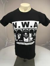 NWA 90s RARE Eazy E Ice cube Dr Dre Legends HIP HOP CONCERT T-shirt RAP Sm
