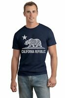 California Republic T-Shirt, Cotton Blend, Short Sleeve (Adult' Size: S,M,L,XL)