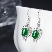 Fashion Women Jewelry Eardrop Pure White Brass Ear Stud Female Ruby Earrings