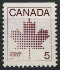 Canada 1981 SG # 1033, 5C Maple Leaf MNH TOP Imperf #D 7046