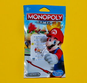 Super Mario Monopoly Gamer Board Game - Toad Figure (New)