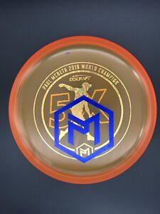 Discraft Paul McBeth 5x World Champion Cryztal Luna - Blue Wave Misprint Stamp