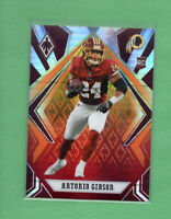 2020 Panini Phoenix Fanatics Fire Burst Antonio Gibson Rookie #128 Washington RC