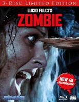 Zombie (cover B Splinter) [New Blu-ray] Ltd Ed, Anniversary Ed