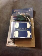 Holiday Time Christmas 10 LIGHTS Set Battery Operated