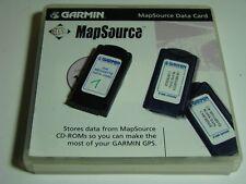 Garmin Speicherkarte 256 MB f. NAVIs wie GPSMAP 276, 278 etc. in TOP Zustand OVP