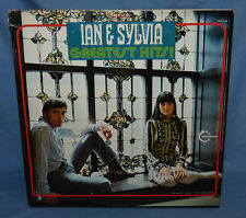 IAN & SYLVIA Greatest Hits! 2 LP Set 1969 Vanguard Folk VG+