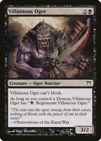 1X FOIL Villainous Ogre MTG Magic CHAMPIONS OF KAWIGAMA #148