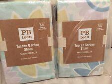 2 Pottery Barn Pb Teen Tuscan Garden Euro Shams