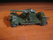 DINKY TOYS 690 ANTI-AIRCRAFT GUN WITH RUBBER WHEELS BY  MECCANO