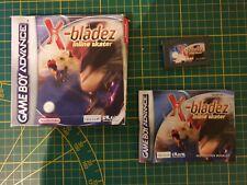 GAME BOY GAMEBOY ADVANCE GBA BOXED BOITE X-BLADEZ INLINE SKATER AGB-AXIP-EUR
