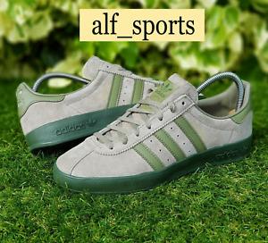 ❤ BNWB & Authentic Adidas Originals ® Broomfield Khaki Suede Trainers UK Size 9