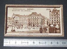 CHROMO PHOTO CHOCOLAT SUCHARD 1934 EUROPE CSSR TCHECOSLOVAQUIE BRNO